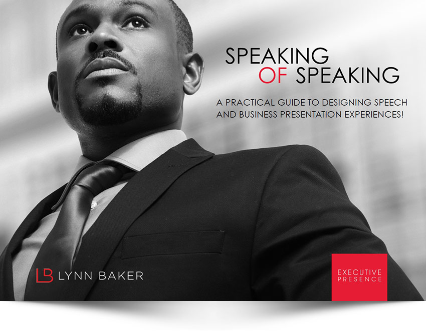 Lynn Baker - Speaking of Speaking Book Cover